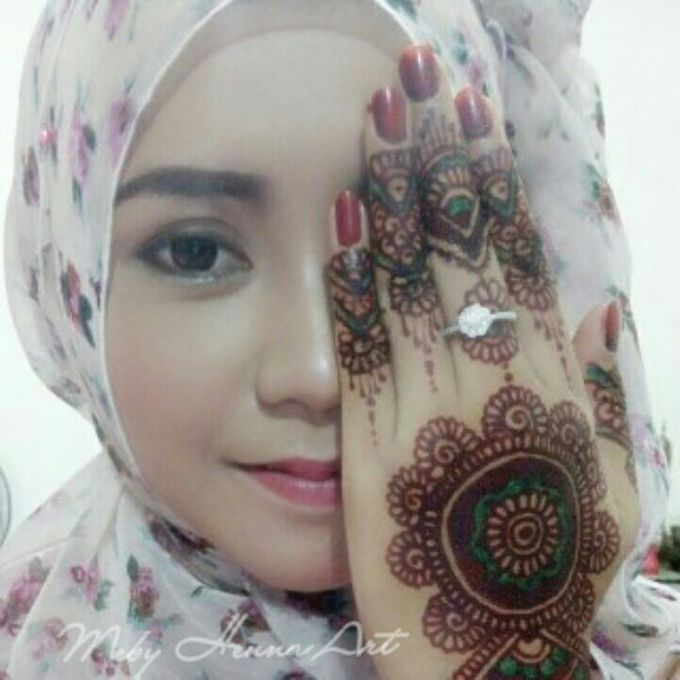 Ethnic Red Henna by Meby Henna Art - 007