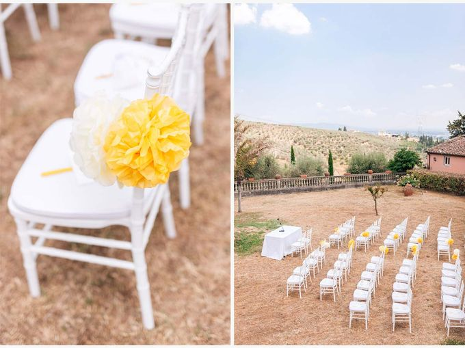 Al Fresco wedding with symbolic ceremony in a beautiful villa in Tuscany by PURE wedding photography - 010