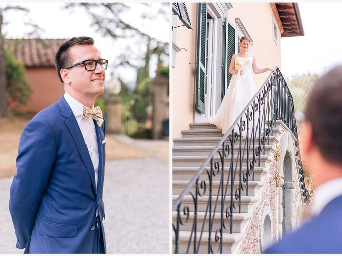 Al Fresco wedding with symbolic ceremony in a beautiful villa in Tuscany by PURE wedding photography - 011