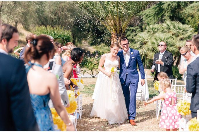 Al Fresco wedding with symbolic ceremony in a beautiful villa in Tuscany by PURE wedding photography - 014
