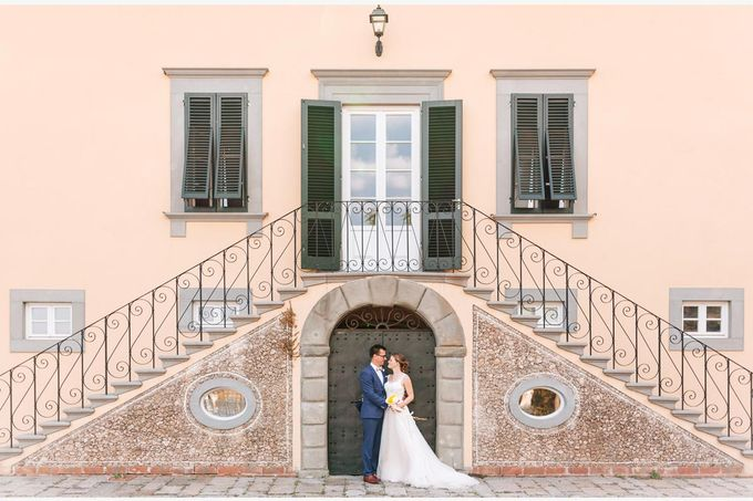 Al Fresco wedding with symbolic ceremony in a beautiful villa in Tuscany by PURE wedding photography - 016