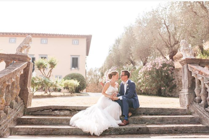 Al Fresco wedding with symbolic ceremony in a beautiful villa in Tuscany by PURE wedding photography - 018