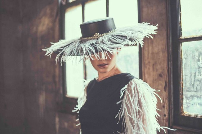 Millinery Collection by Alana Aoun - 002