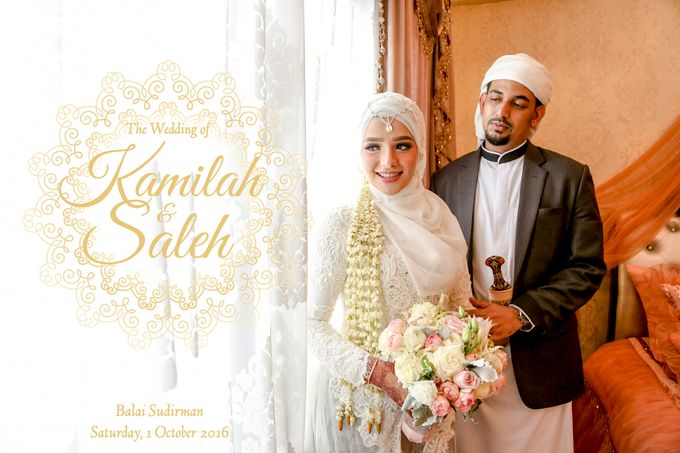 Kamilah & Saleh | Wedding by Kotak Imaji - 001