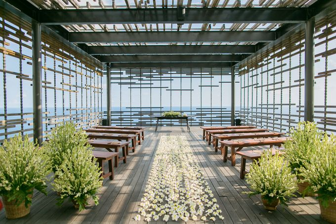 Alila Villas Uluwatu-The Wedding of Nick & Nicole by Alila Hotels and Resorts (Bali) - 001