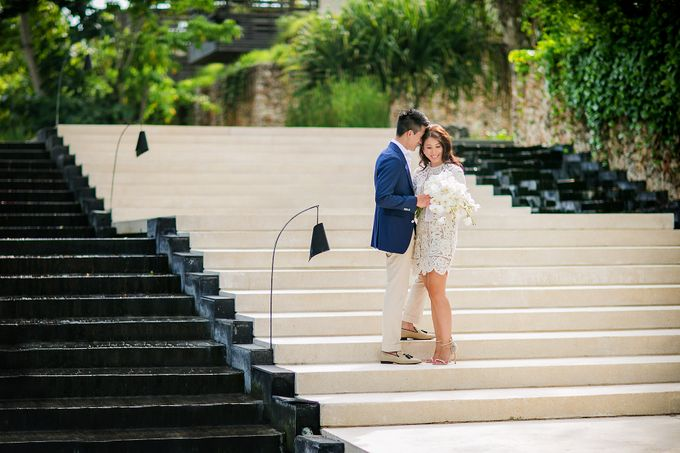 Alila Villas Uluwatu-The Wedding of Nick & Nicole by Alila Hotels and Resorts (Bali) - 018
