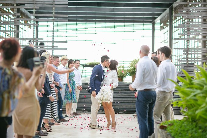 Alila Villas Uluwatu-The Wedding of Nick & Nicole by Alila Hotels and Resorts (Bali) - 033