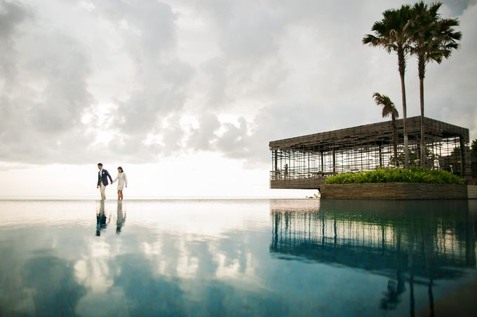 Alila Villas Uluwatu-The Wedding of Nick & Nicole by Alila Hotels and Resorts (Bali) - 037