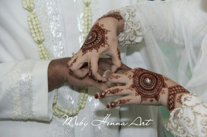Ethnic Red Henna by Meby Henna Art - 008