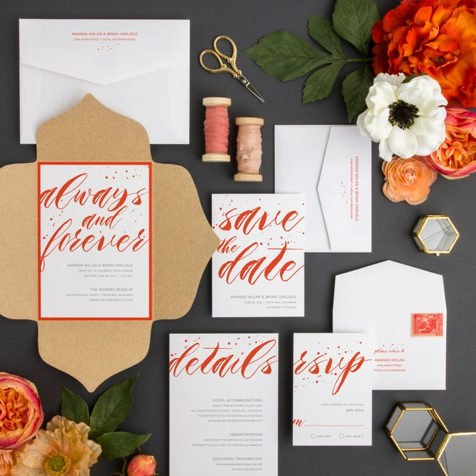 New Wedding Designs by Paper Pressed  - 009
