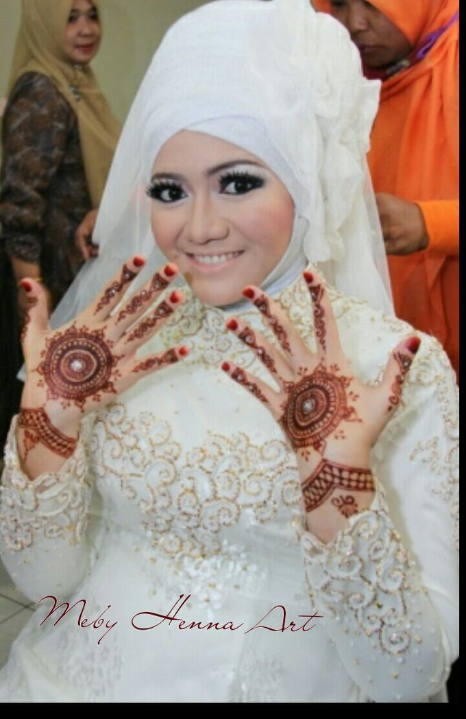 Ethnic Red Henna by Meby Henna Art - 010