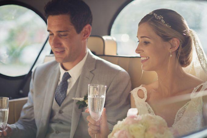Wedding in tropical island ruins by Maria Elena Headpieces Australia - 016