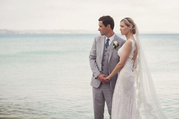 Wedding in tropical island ruins by Maria Elena Headpieces Australia - 018