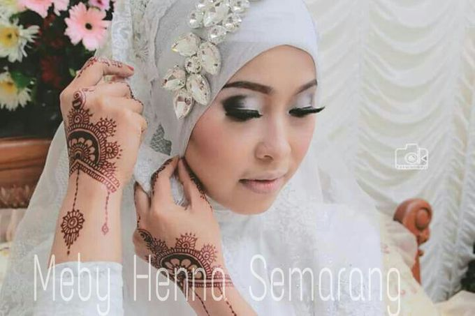Ethnic Red Henna by Meby Henna Art - 014