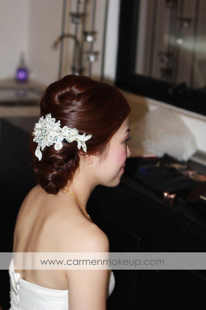 Brides Actual Day by Carmen Makeup & Hair - 005