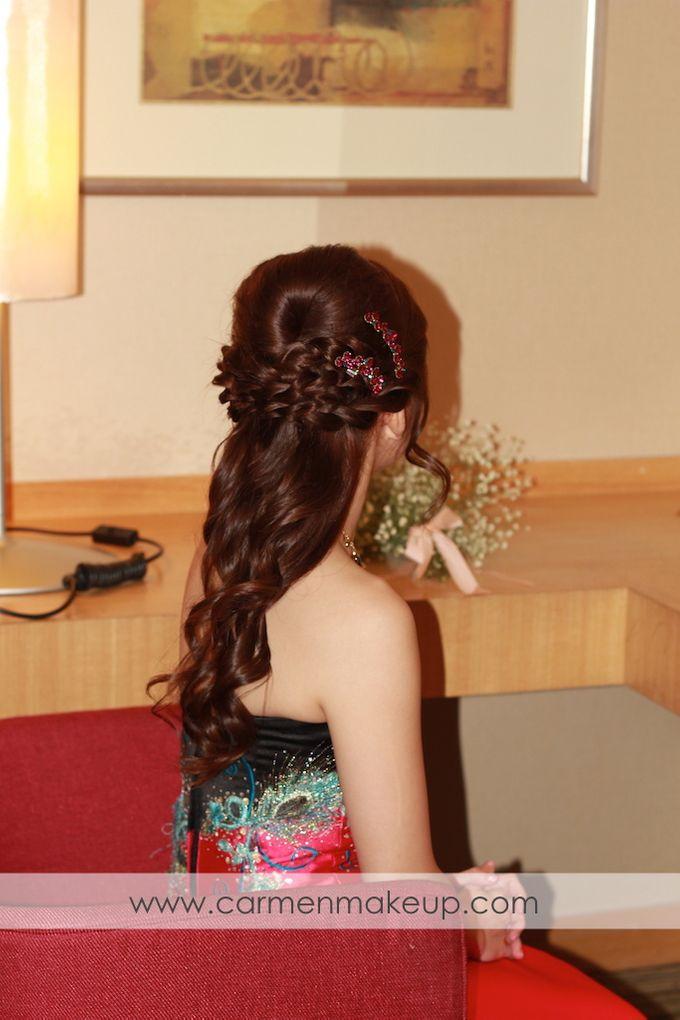 Brides Actual Day by Carmen Makeup & Hair - 007