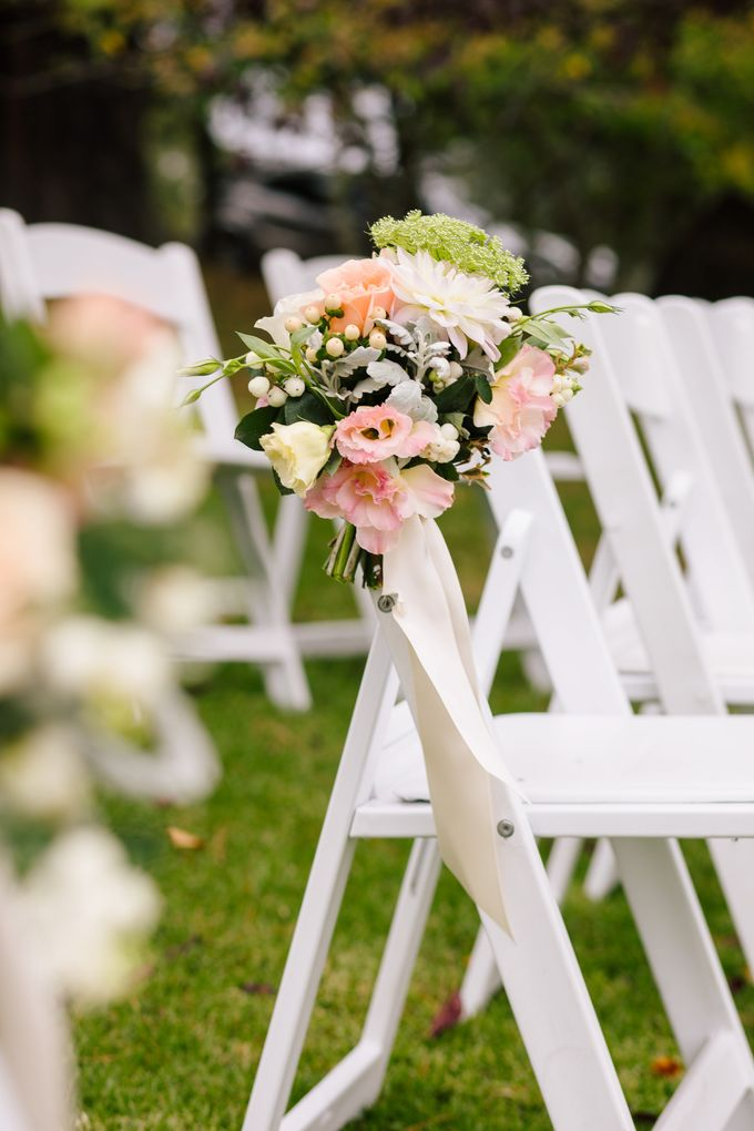Ceremony and Reception by Affair with George  Florals & Event Styling - 005