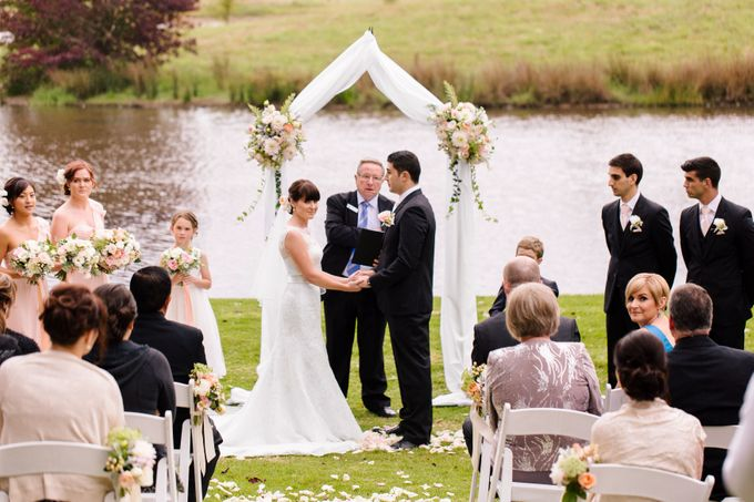 Ceremony and Reception by Affair with George  Florals & Event Styling - 006