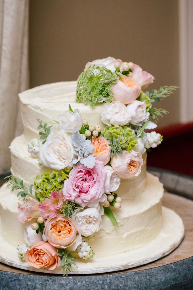 Ceremony and Reception by Affair with George  Florals & Event Styling - 007