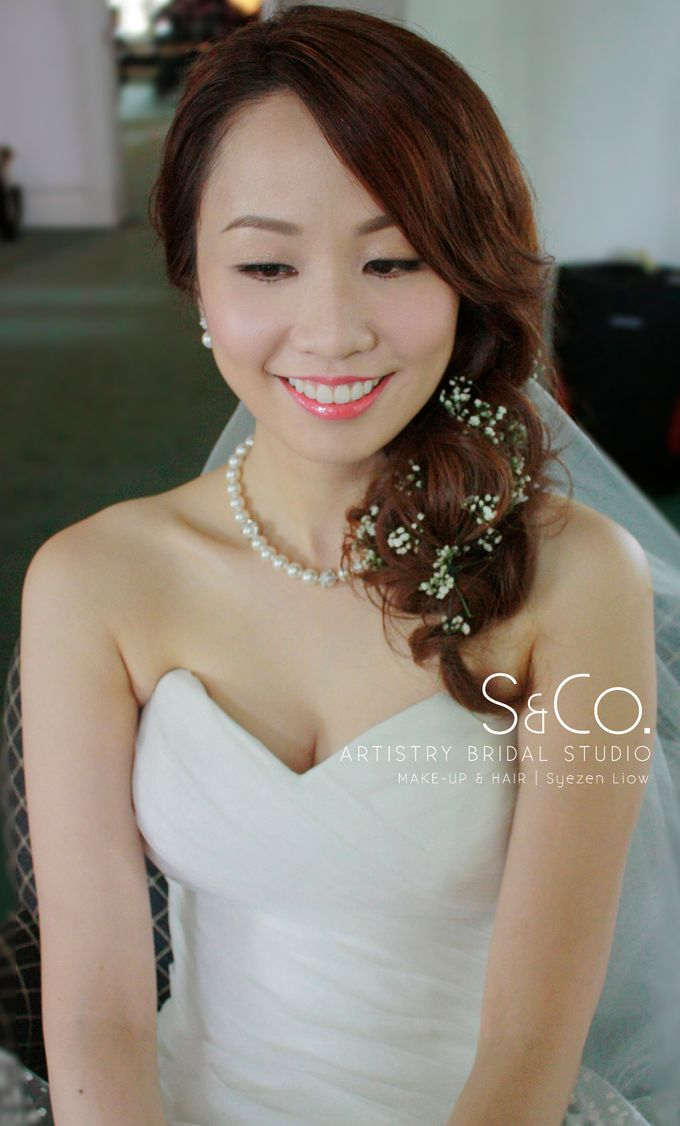 Actual Day Bridal Makeup by S & Co. Artistry Bridal Makeup Studio - 002