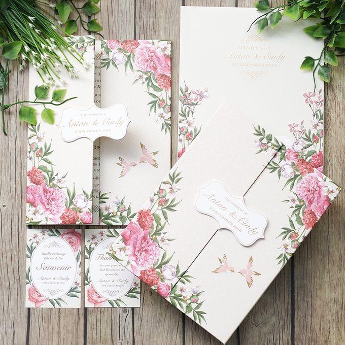 Anton and Cindy Wedding Invitation by Mimi kwok makeup artist - 001