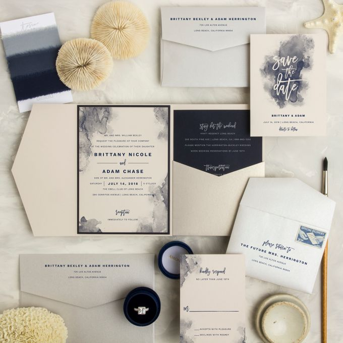 New Wedding Designs by Paper Pressed  - 008