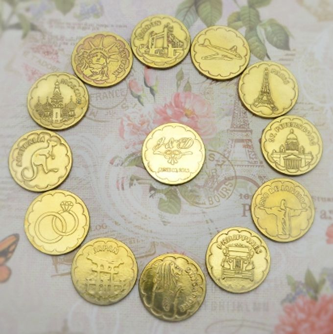 Wedding Coins by Jigs and Clays - 006