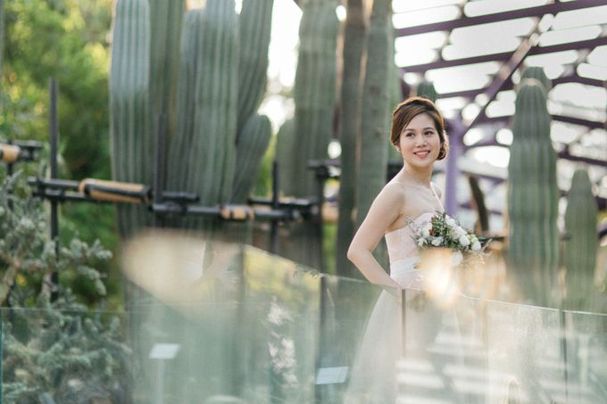 Floral & Garden Wedding Photoshoot by Après Makeup - 003