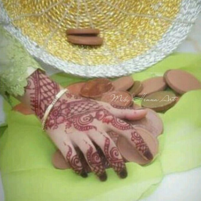Ethnic Red Henna by Meby Henna Art - 021
