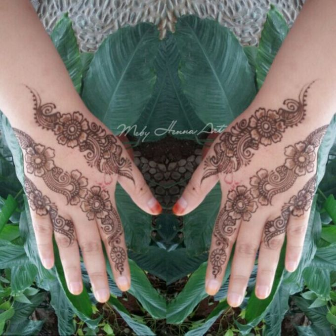 Ethnic Red Henna by Meby Henna Art - 022
