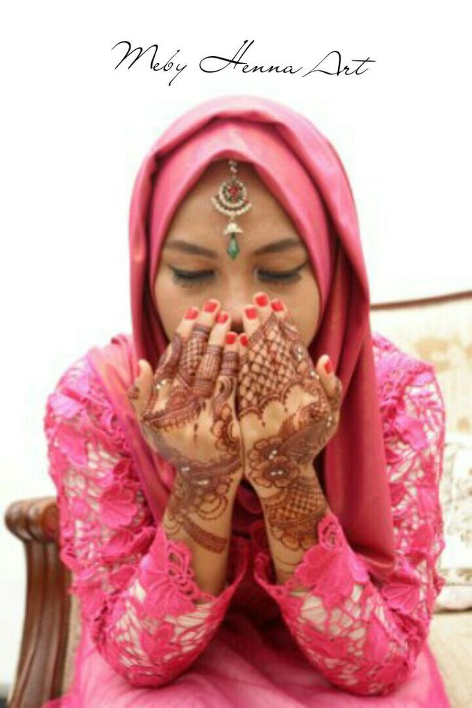 Ethnic Red Henna by Meby Henna Art - 023