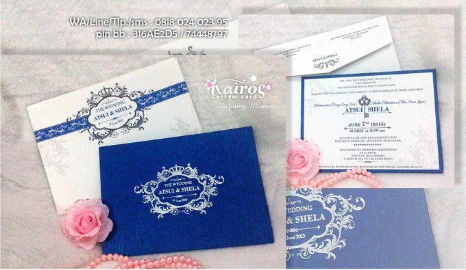 Wedding Invitation by Kairos Wedding Invitation - 001