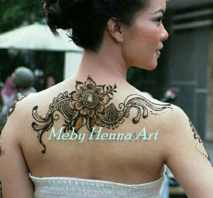 Ethnic Red Henna by Meby Henna Art - 025