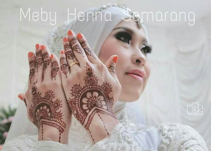 Ethnic Red Henna by Meby Henna Art - 027