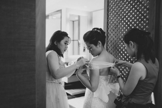 Capella Singapore Wedding by Peter Herman Photography - 003