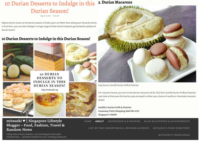 Media Mentions by Sunlife Pastries - 011