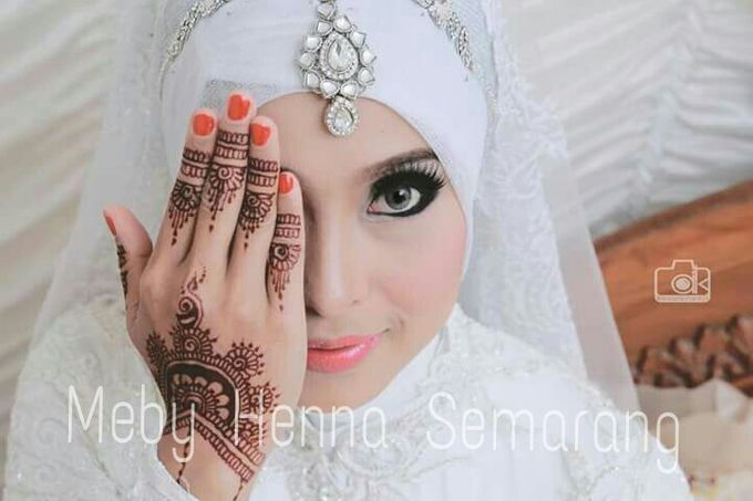 Ethnic Red Henna by Meby Henna Art - 028