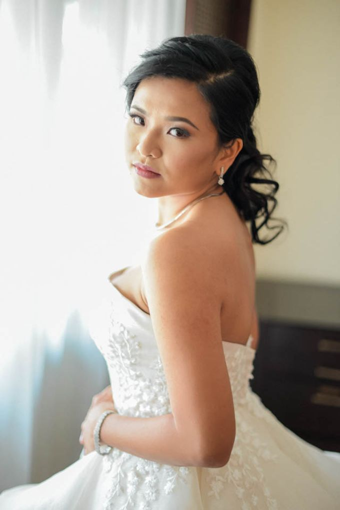 Wedding - Ayo and Clare by Nelsy Ernst Pro-Make Up - 003