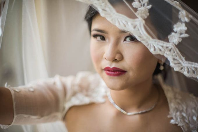 Wedding - Ayo and Clare by Nelsy Ernst Pro-Make Up - 005