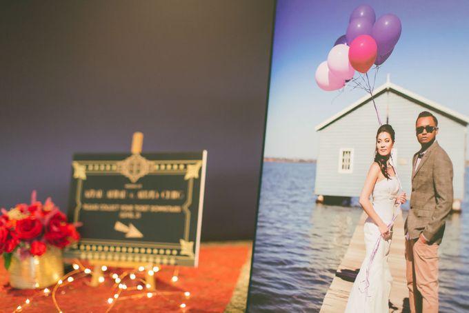 Wedding of  Azhar & Alexis by Rosette Designs & Co - 003