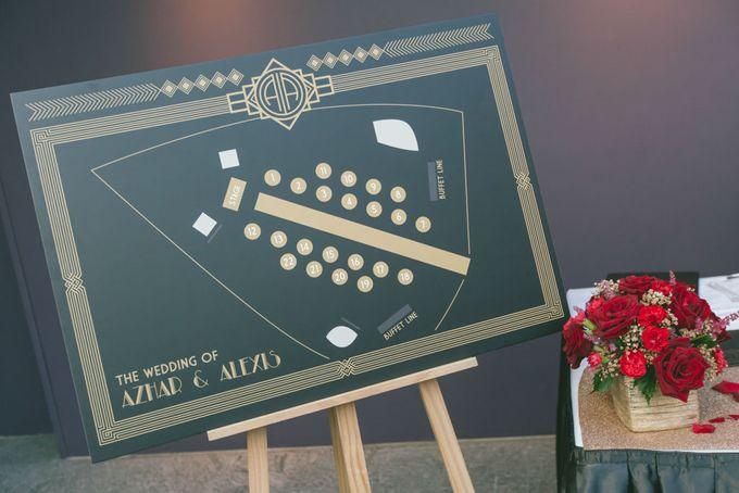 Wedding of  Azhar & Alexis by Rosette Designs & Co - 014