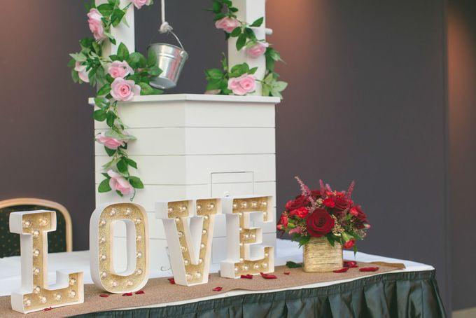 Wedding of  Azhar & Alexis by Rosette Designs & Co - 016
