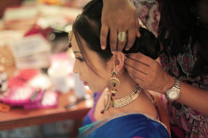 Linkesh & Pamelyn by Alangkaar Bridal Studio - 002