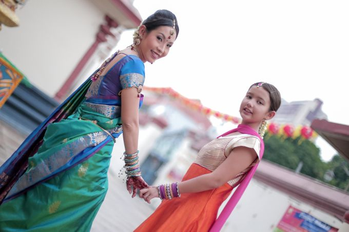 Linkesh & Pamelyn by Alangkaar Bridal Studio - 006