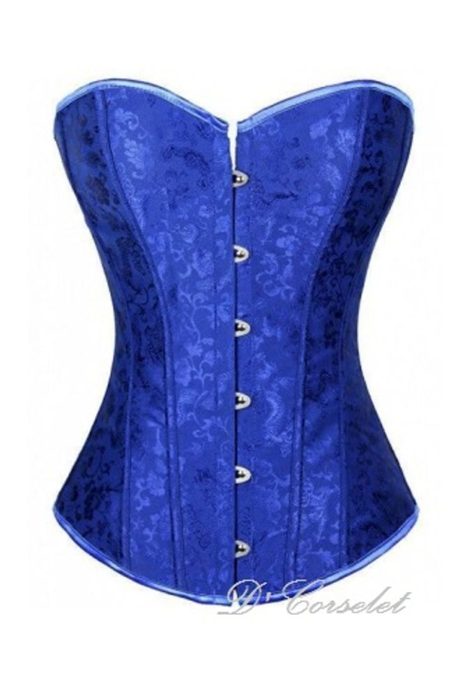 Simple Brocade Corset by D' Corselet Singapore - 007
