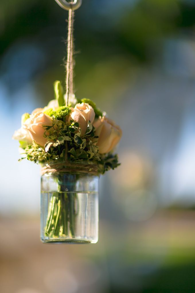 Wedding by the Beach by Shangri-La Rasa Sayang Resort - 011