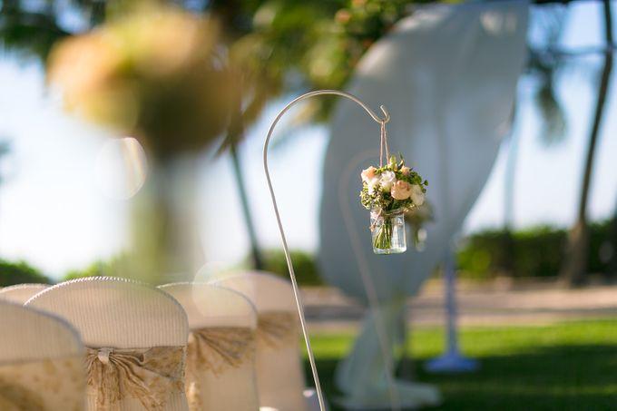 Wedding by the Beach by Shangri-La Rasa Sayang Resort - 012