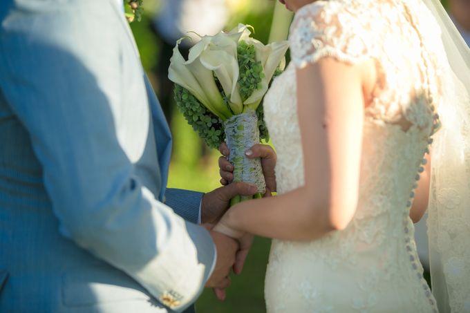 Wedding by the Beach by Shangri-La Rasa Sayang Resort - 016