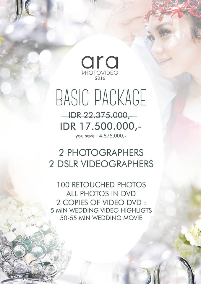 Promo Package by ARA photography & videography - 001