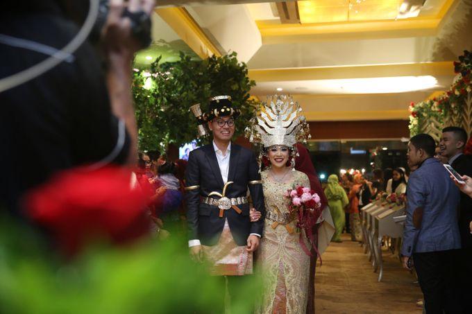 Modern Mandailing Wedding with Video Mapping by Dikaderadjat - 021